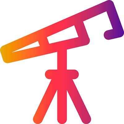 Picto Degradee Telescope