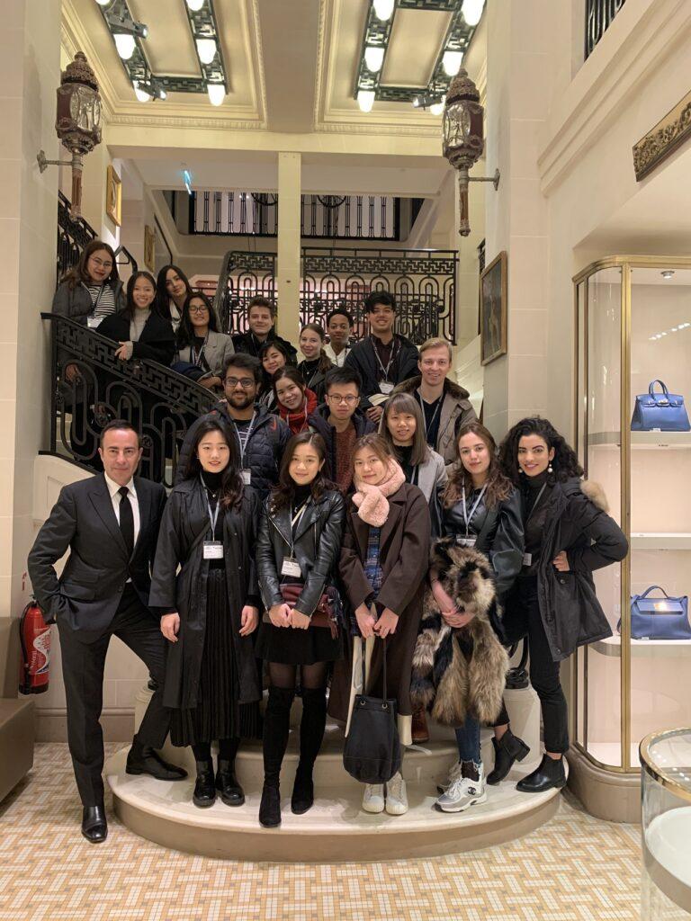 Paris Winter School Hermes Visit