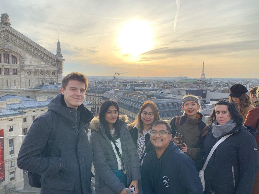 Paris Winter School Rooftop