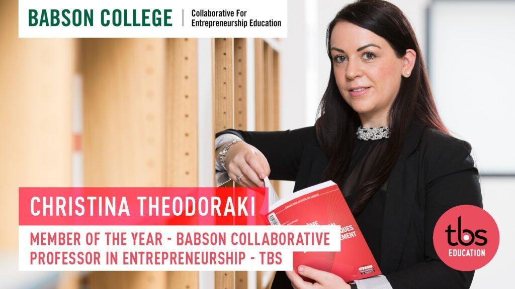 Babson Member Of The Year 2021 C Theodoraki