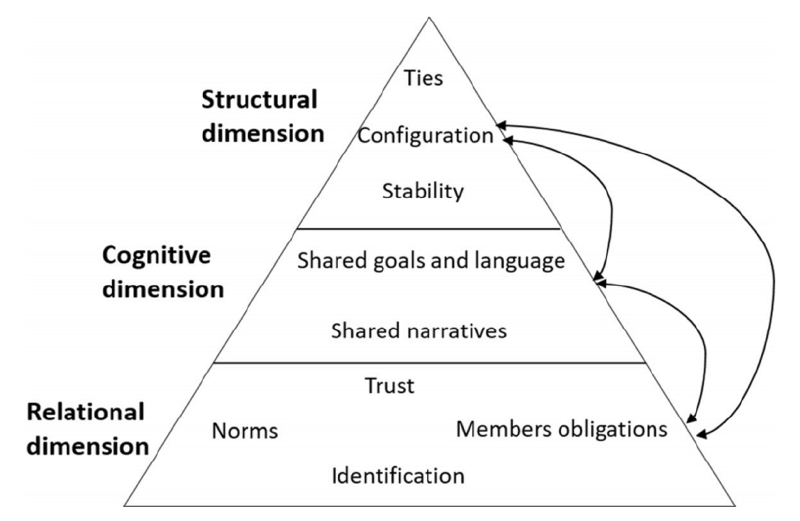 Figure 1: The Social Capital Perspective of the Entrepreneurial Ecosystem