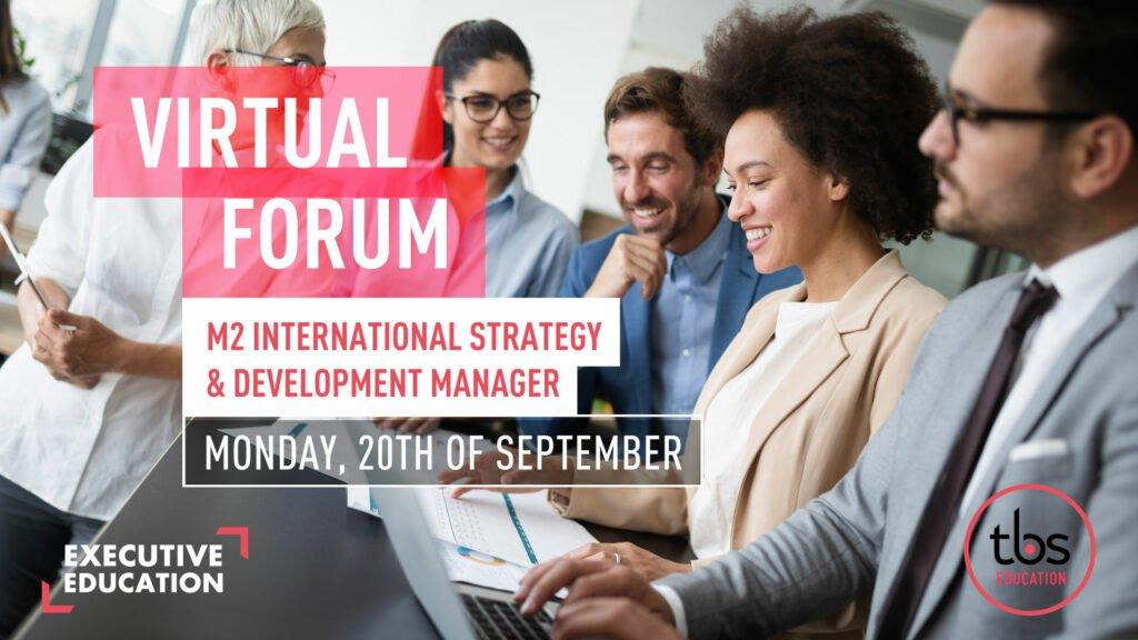 forum virtuel visuel m2 anglais