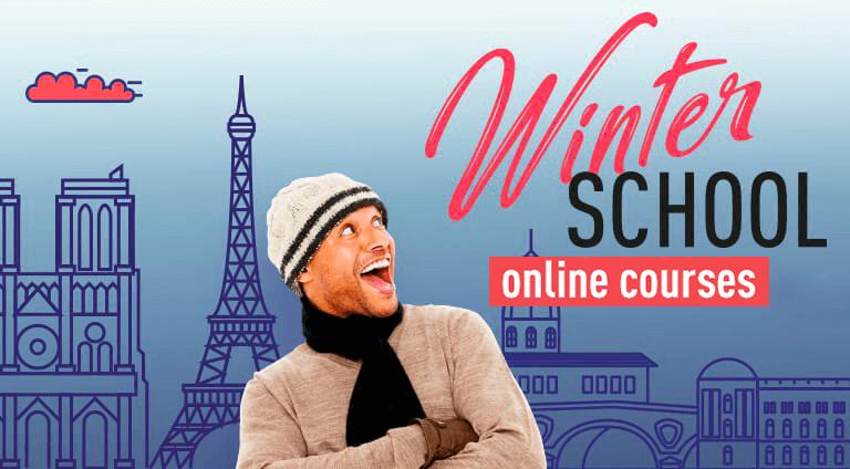 Mega Menu Winter School Online