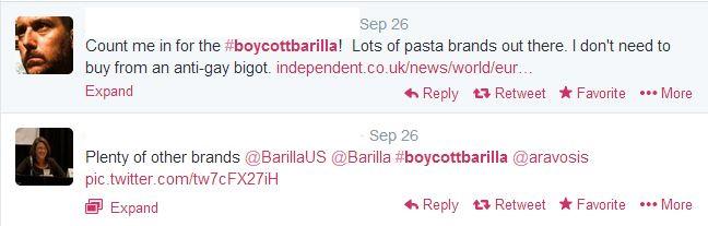 The enormous power of the consumer Barilla case