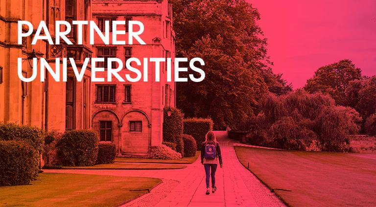 Masters - Partner universities