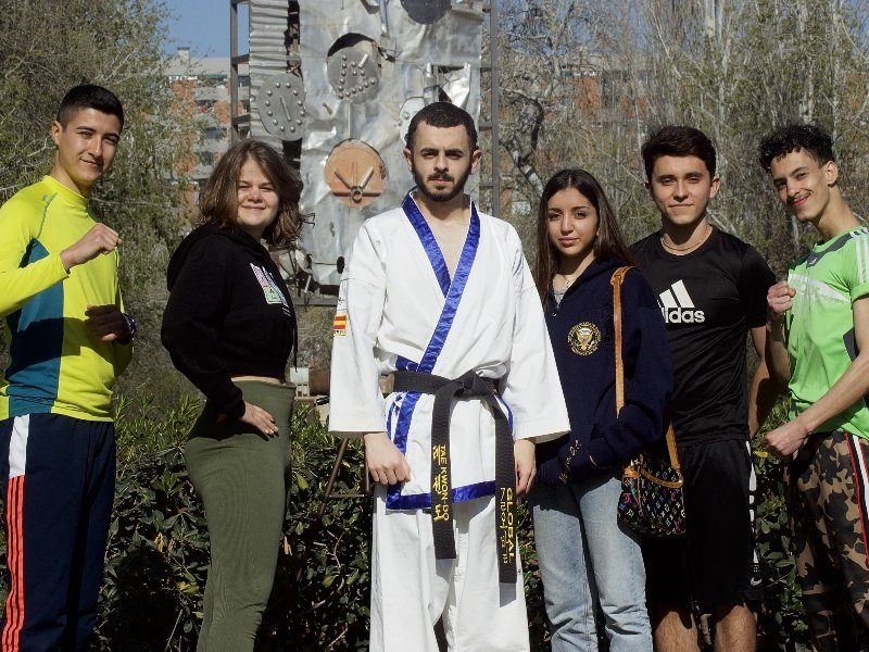 TBS parc ciutadell taekwondo